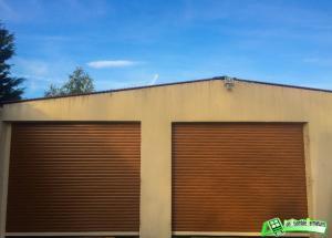 Porte de Garage enroulable Aluminium motorisé